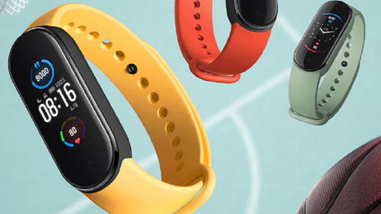 Xiaomi mi band 5 - cinturini bicolore