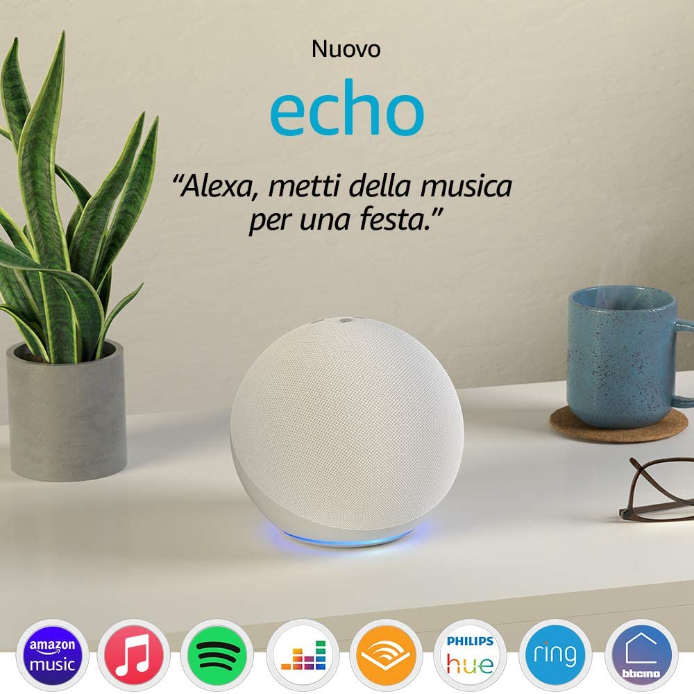 nuovi dispositivi amazon echo