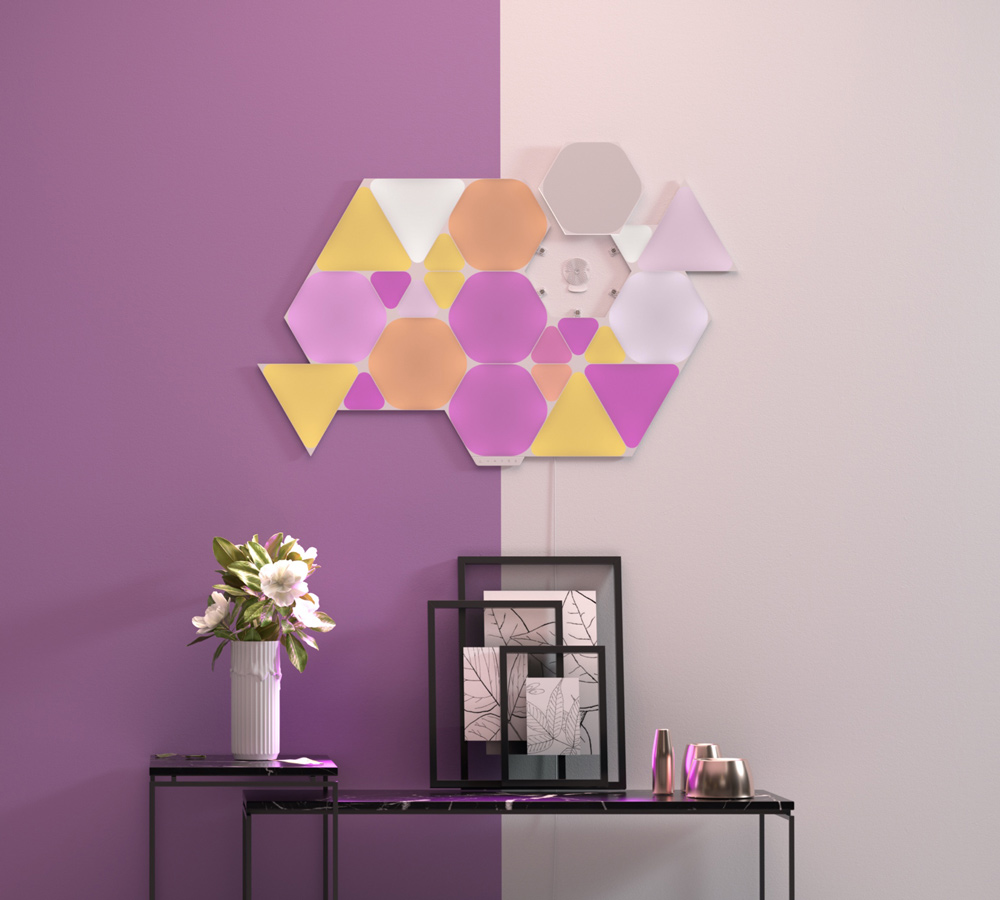 nanoleaf triangles
